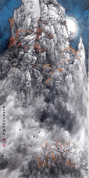 白石山夜 68x136  2019年副本副本.JPG