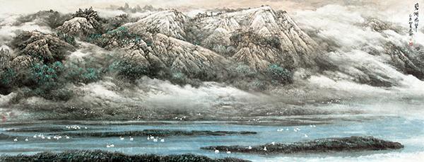 碧湖鸣翠 368x146  2005年(国务院紫光阁)副本.jpg