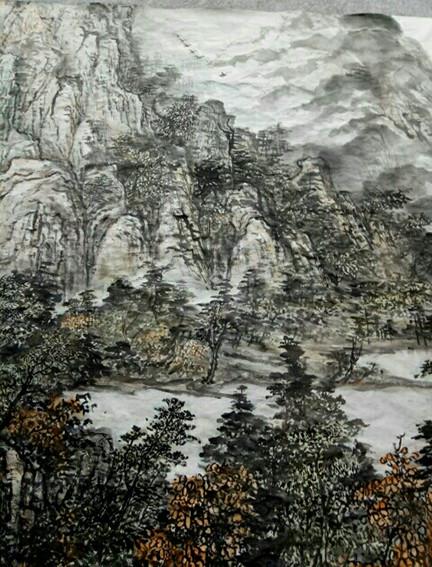 任纪成作品12《秋意实色》.jpg