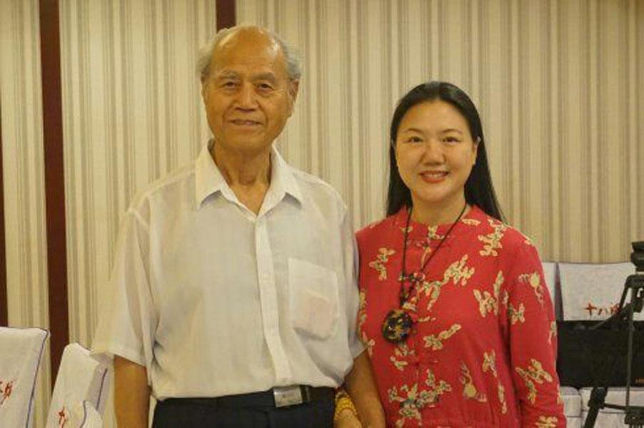 冯伯青祝寿85岁