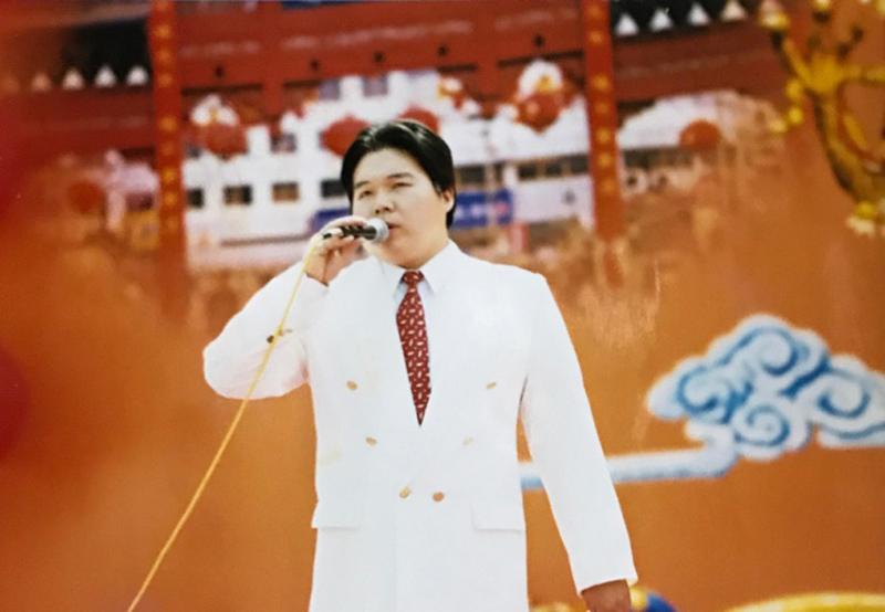 南京夫子庙会演唱
