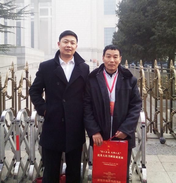 与中国企业报道薛雷秘书长合影