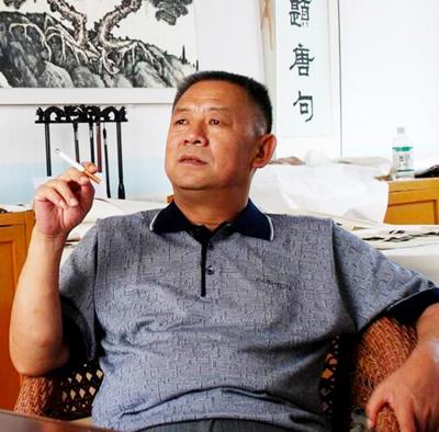 蒋斗贵——百位书画艺术传播大使专题报道