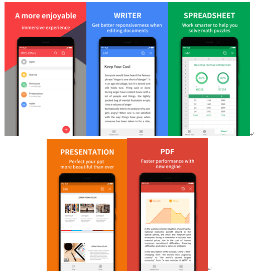 "WPS Office荣获Google Play""2015 年度最佳应用"""