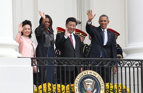 中国国家主席习近平应邀访问美国