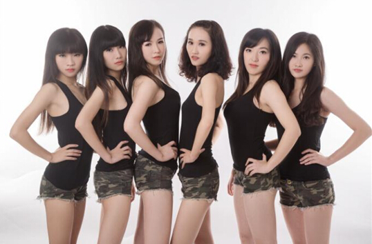 图注:AgFox.Girl女子战队成员