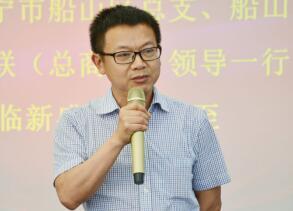 民建遂宁市委主委、市政协副主席周通进行活动总结