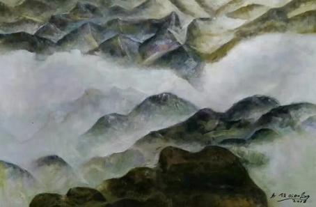 《十万大山》,作者:乔领