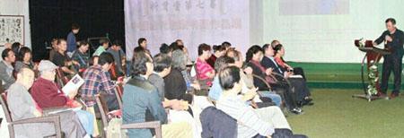 开幕式由北京艺术创作中心常务副主任、军旅书法家王建勋主持。