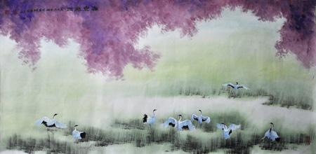 张文山作品7 《春意盎然》
