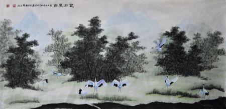 张文山作品10 《夏日晨曲》