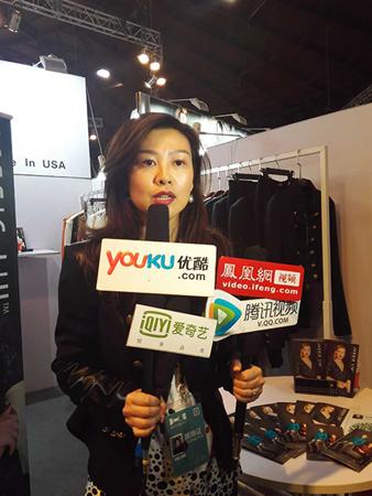 刘杰在接受媒体采访