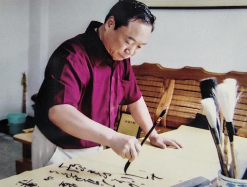 翰墨融情写军魂——齐乐娱乐梁京才祝贺建军90周年作品展