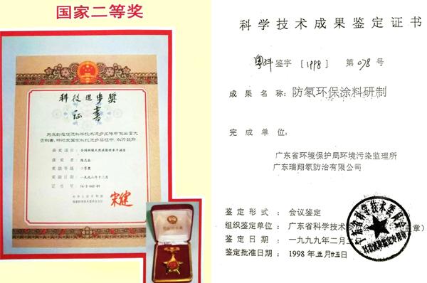 荣获国家科技进步奖