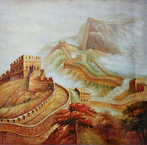 乔领作品《金色中国梦》