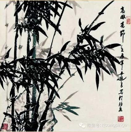 2012年12月北京瑞平国际拍卖行有限公司吴进良先生的作品《高风亮节》拍的112万元