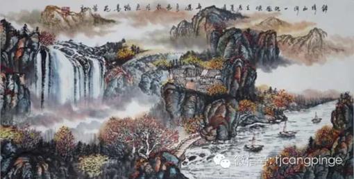 锦绣山河一帆风顺