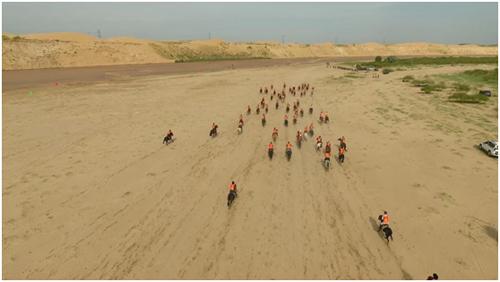 2017中华民族大赛马鄂尔多斯达拉特旗站圆满举行