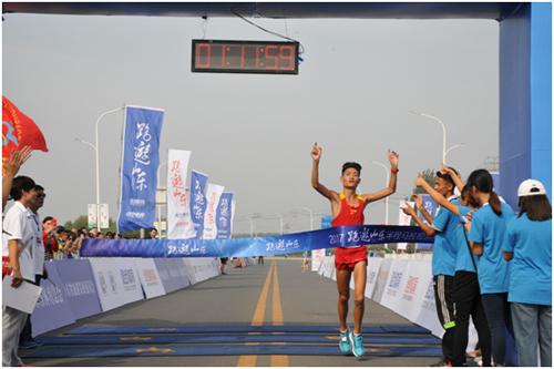 """2017""""跑游山东""""半程马拉松系列赛第四场转战滨州"""