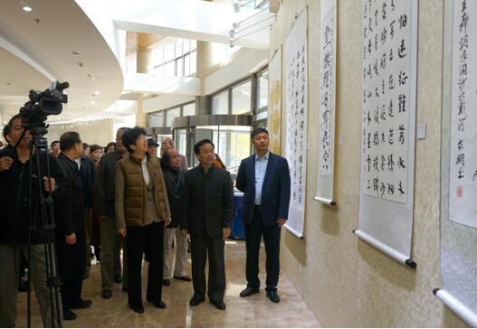 不忘初心跟党走 企业优秀书画作品展于中国文艺家之家举行
