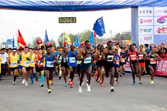 2017曹娥江国际马拉松赛圆满举行