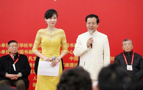 纪念建军九十周年全国书画展在京成功举办