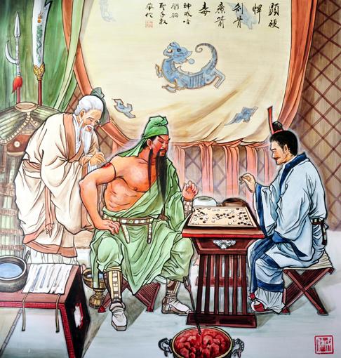 卢成仕——壁画彩绘4