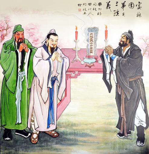 卢成仕——壁画彩绘5