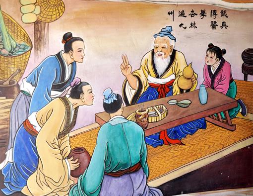 卢成仕——壁画彩绘6