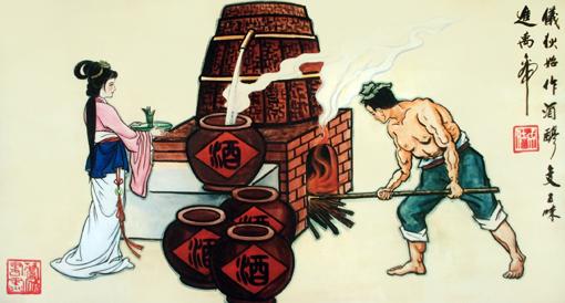 卢成仕——壁画彩绘7