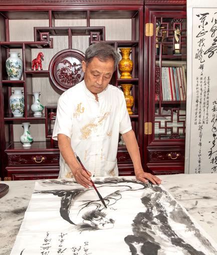唐山建筑彩绘行业领航者——著名书画家卢成仕