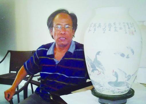 中国著名书画艺术名家——北雁王 罗维存