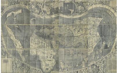 银川当代美术馆历史典藏地图展