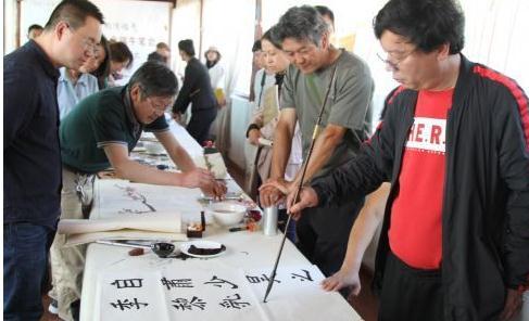 丽江市书法家协会举办弘扬国粹粽情端午笔会活动