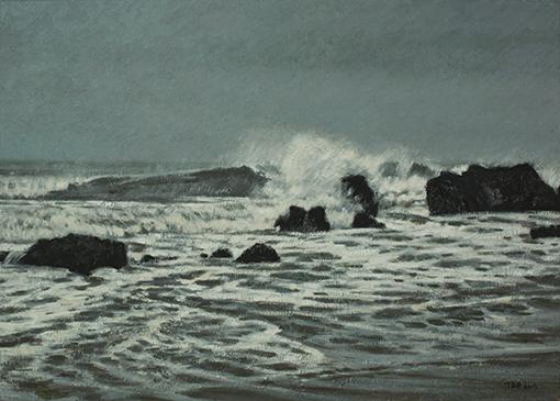 《海之舞系列9》50x70cm布面油彩