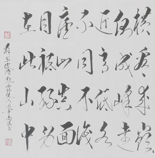 苏东坡诗《题西林壁》