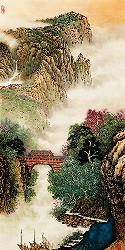 中国书画名家唐必林艺术人生访谈录