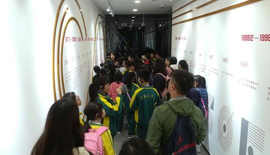 香港师生参观金山办公软件