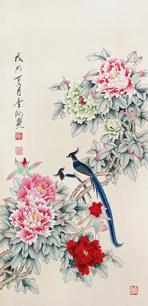 王云仙作品《国色天香》 六平尺