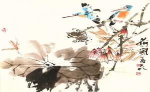 万元民——中国百佳书画名人作品展系列报道